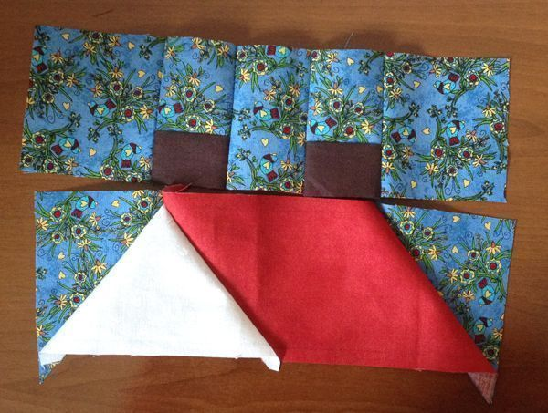 Tutorial casa de patchwork